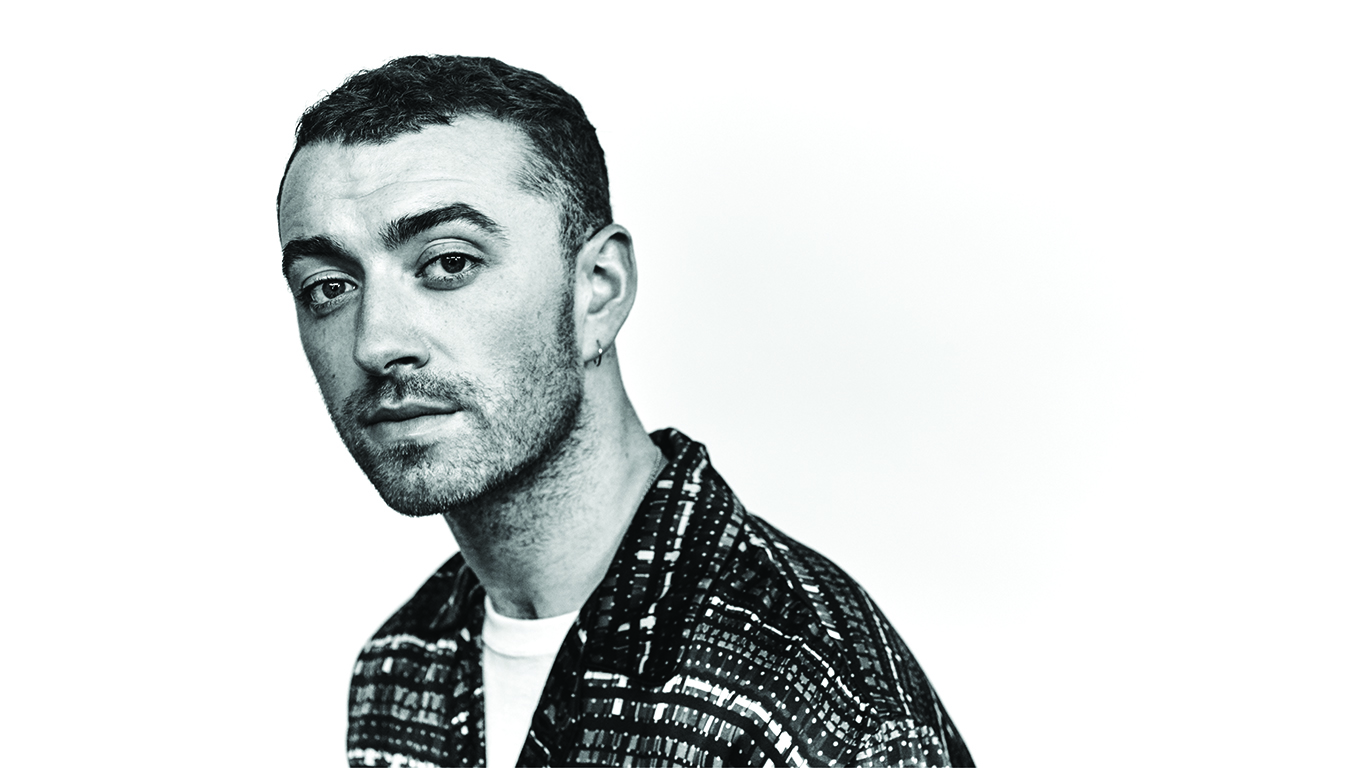 Sam Smith New Homepage Image