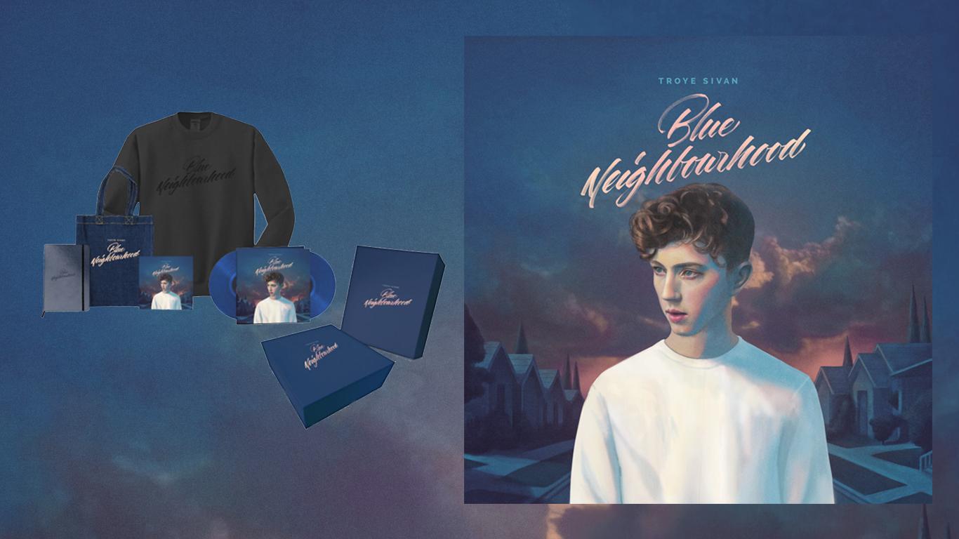 Album troye sivan Blue Neighbourhood