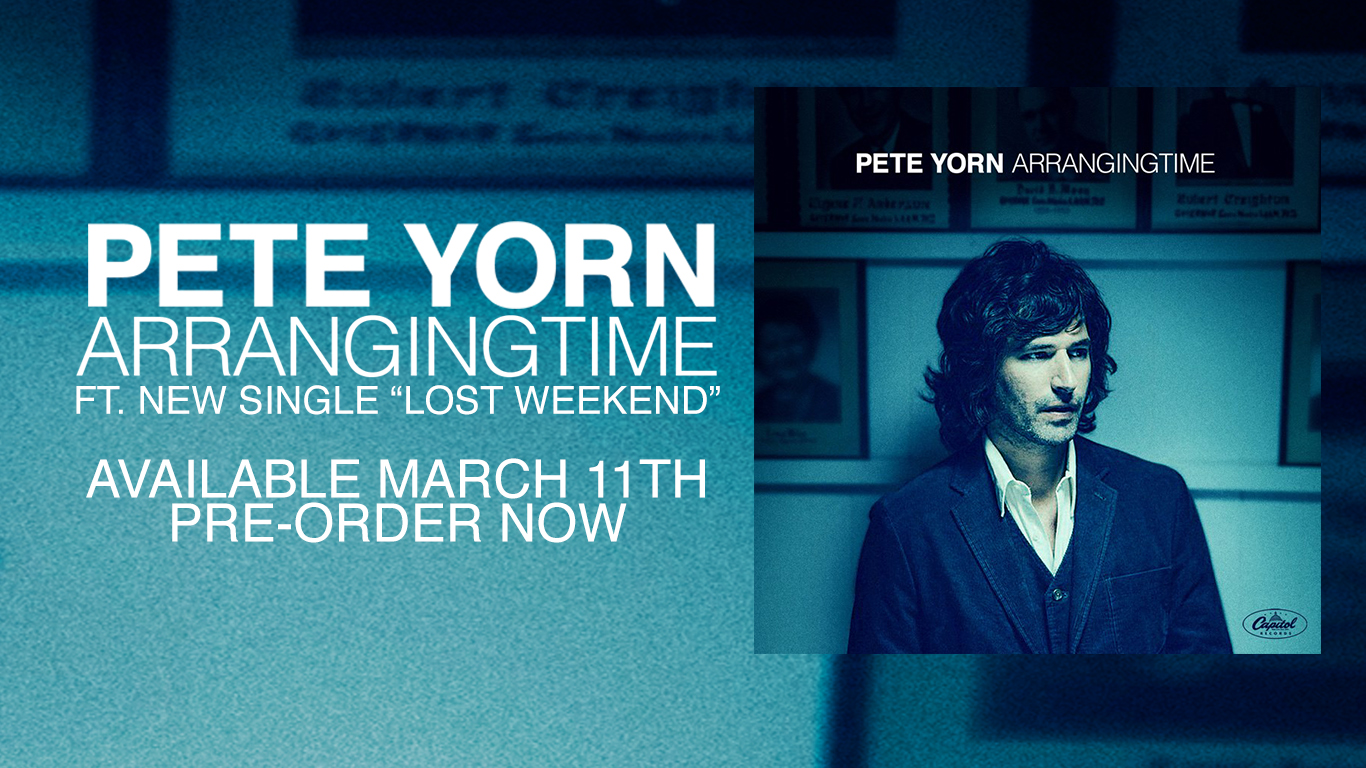 Pete Yorn Homepage Slider
