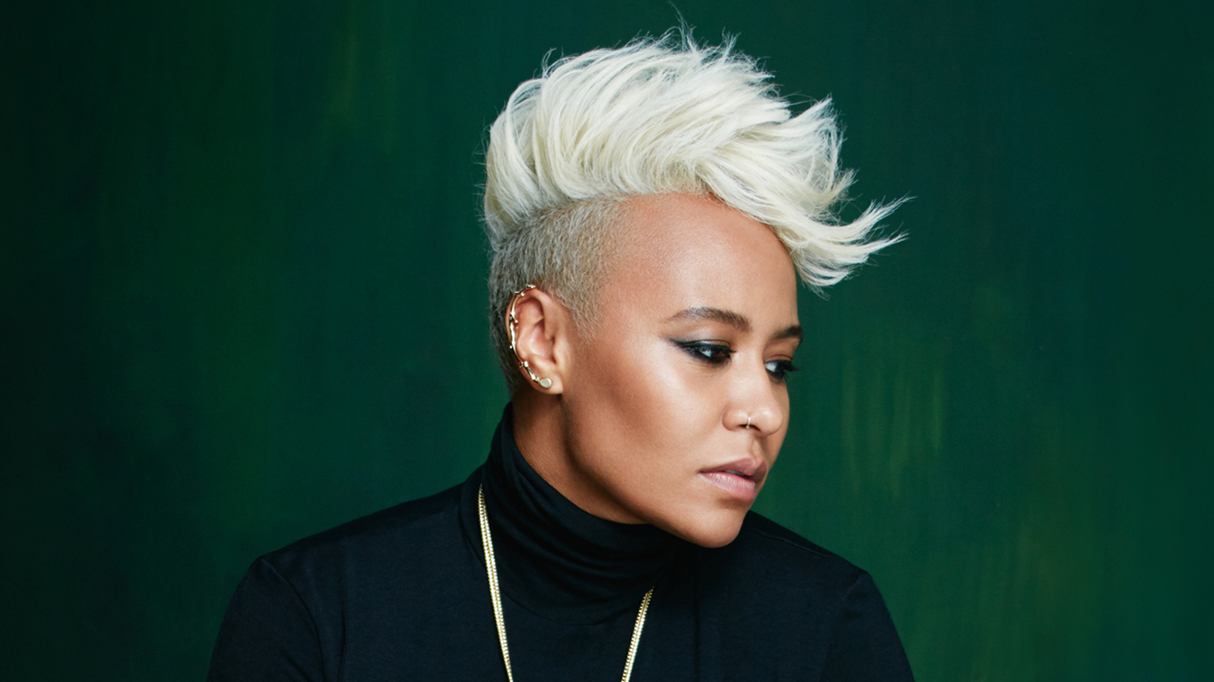 emeli sande new homepage slider